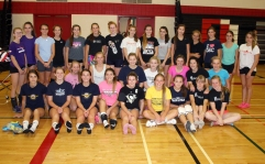 31 girls attended tryouts on Sunday, September 14th, with 2 absent due to injury.